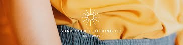 Sunkissed Clothing Co. - Etsy Shop Big Banner template