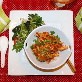 Honey Lime Sriracha Braised Chicken