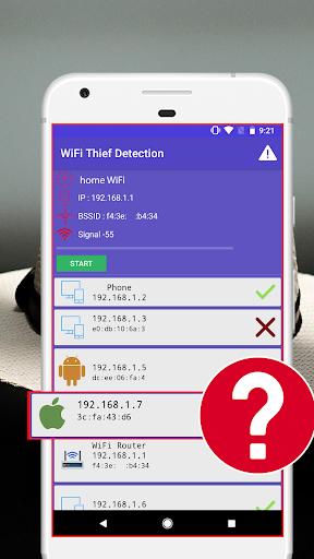 WiFi Thief Detection : WiFi Analyzer: WiFi Scanner 1.0.1 screenshots 2