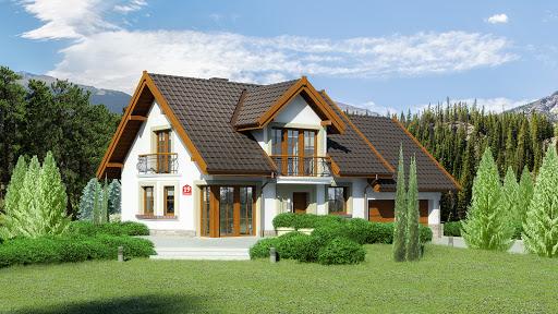 projekt Dom przy Wiosennej 19