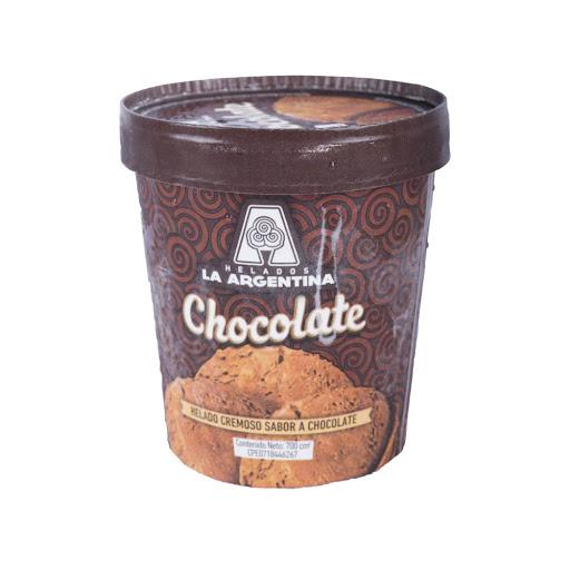 helado la argentina chocolate tradicional 700ml