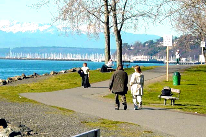 The Myrtle Edwards Park in Seattle