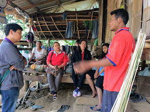 Photo: Huai Jakan village home care visit.