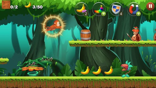 Jungle Monkey Run App Download For Android and iPhone 3