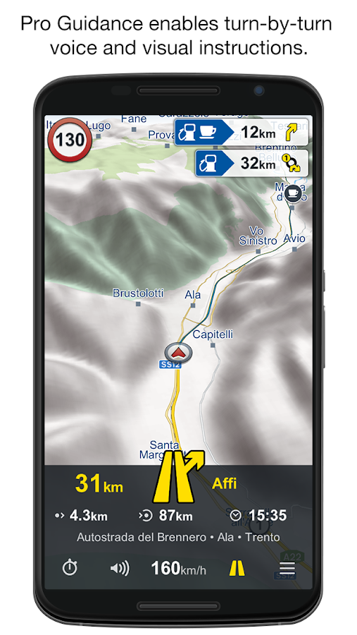 Genius Maps: Offline GPS Nav- screenshot