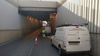 Los túneles de Almería se ponen a punto para posibles inundaciones.