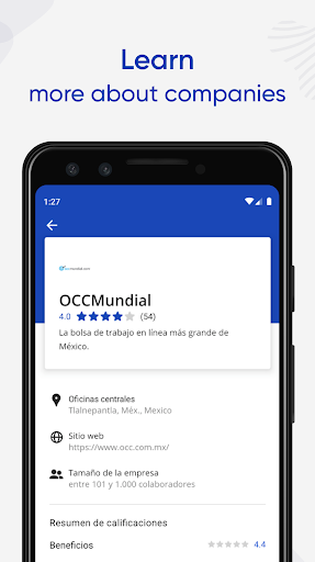 Jobs Search and Employment - OCCMundial screenshots 5