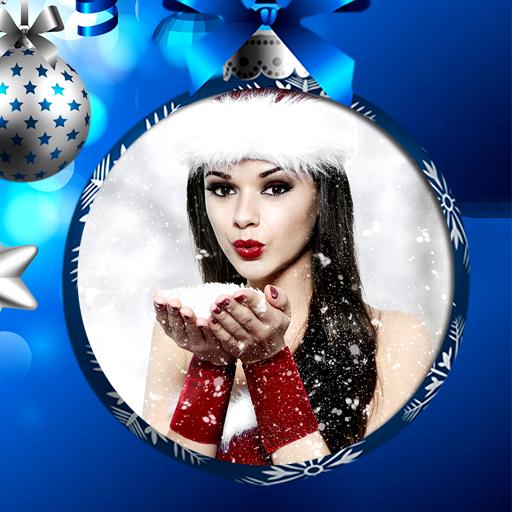 メリークリスマスフォトフレーム 攝影 App LOGO-硬是要APP