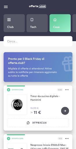 offerte.club screenshot 2