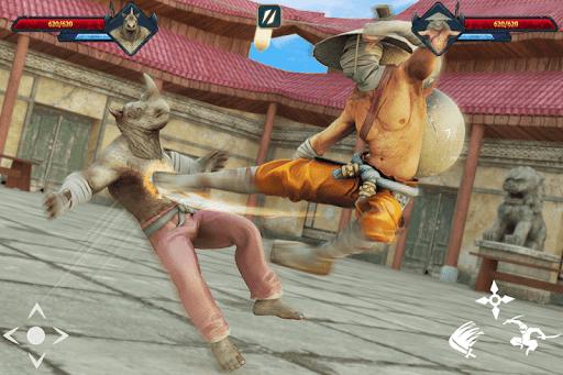 Super Ninja Kungfu Knight Samurai Shadow Battle  screenshots 12