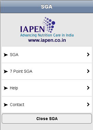 SGA Toolkit - IAPEN