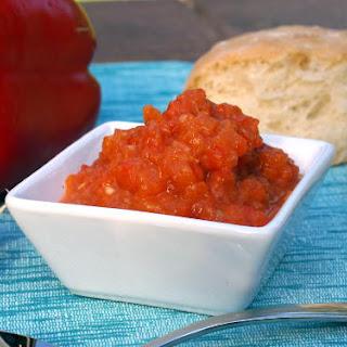 Ajvar (Serbian Roasted Red Pepper Relish)