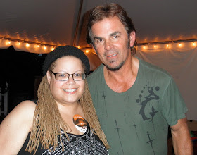 Photo: The man behind Don't Stop Believing, Journey songwriter, keyboardist, and rhythm guitarist Jonathan Cain, was very kind and thoughtful during the Meet & Greet. held before the band's concert in Raleigh, NC on 8/20/2011.