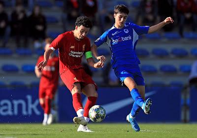 Les U19 de Genk viennent d'en découdre avec ceux de Liverpool