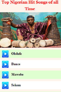 Top Nigerian Hit Songs of all Time - náhled