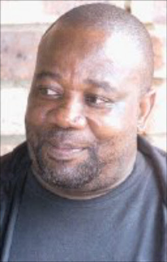 PLAYWRIGHT: Paul Rapetsoa talks about hi play. Pic. Watson Mcoteli. 05/03/06. © Sowetan.