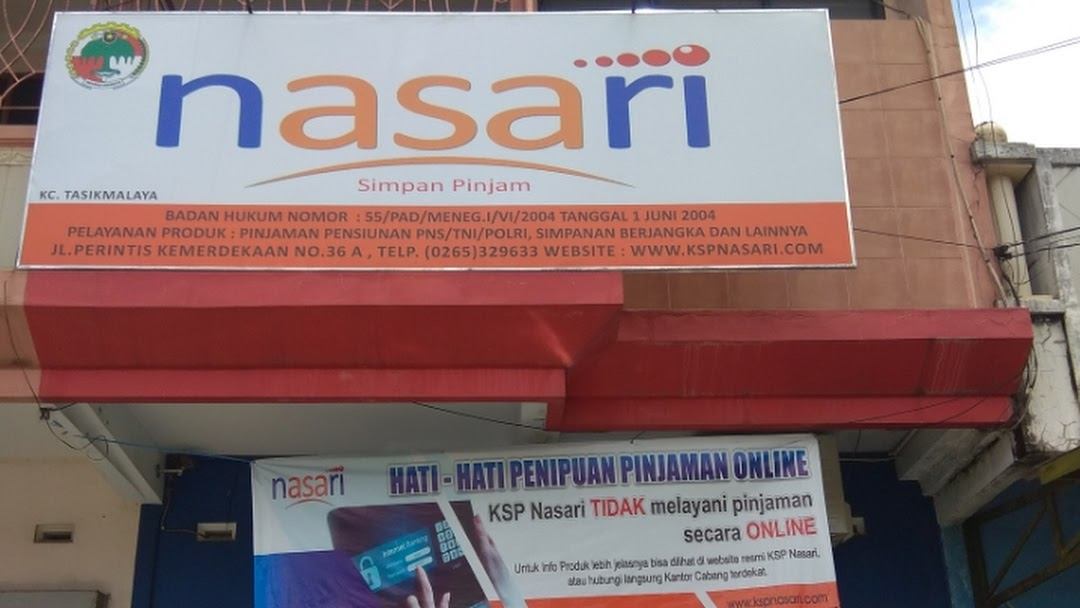 Koperasi Nasari Kc Tasikmalaya Lembaga Keuangan