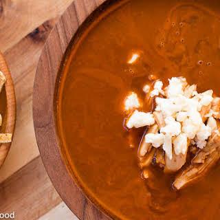 Sopa Azteca – Tortilla Chicken Soup.
