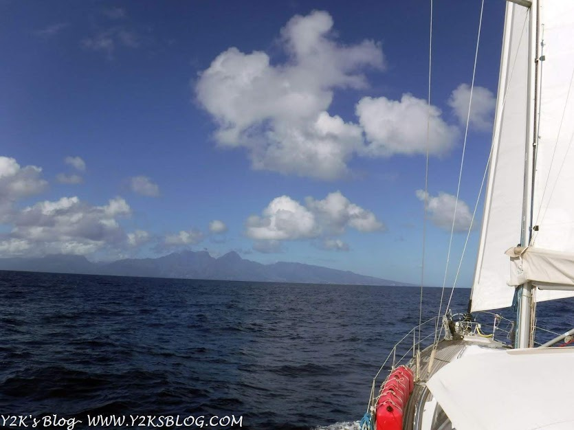 Avvicinamento a Tahiti