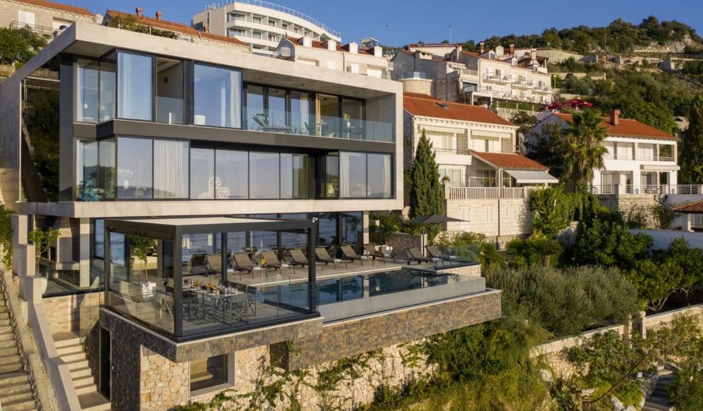 Propriété avec piscine en bord de mer Dubrovnik