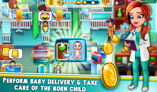 Pregnant mom & Newborn Baby Care Center game 1.1.6 Mod screenshots 3