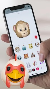 Animoji for android - náhled