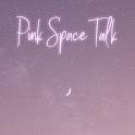 [임샤인] 핑크 우주 달 카카오톡 테마 (pink space moon) icon