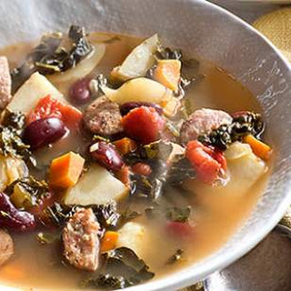 Portuguese Kale & Red Bean Soup