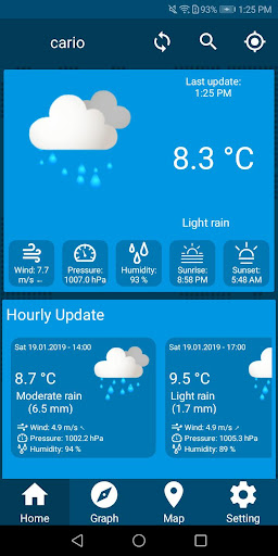 Screenshot for Live Weather Update Free Weather Forecast App 2019 in United States Play Store