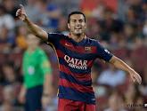 Le Barça manque à Pedro...