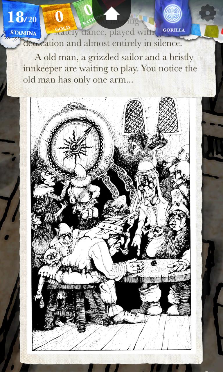 Sorcery! 2 Screenshot 1