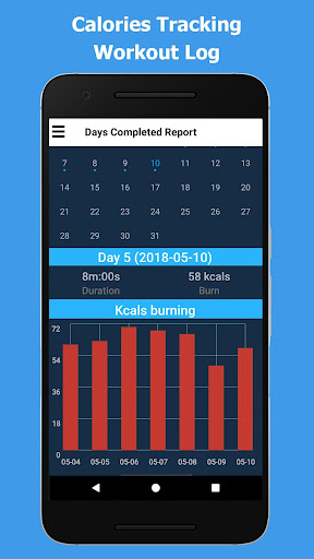 Strong Arms in 30 Days - Biceps Exercise Screenshots 3