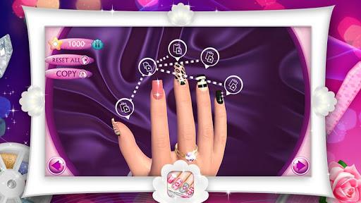 Fashion Nails 3D Girls Game screenshot 7