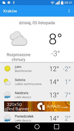 Kraków - pogoda