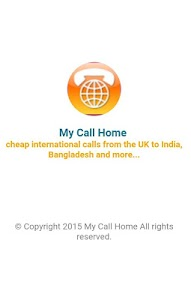 MyCallHome screenshot 0