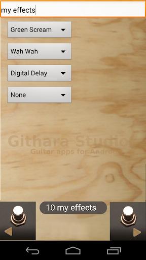 usbEffects (Guitar Effects)  screenshots 4