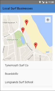 Surfing in Tynemouth- screenshot thumbnail