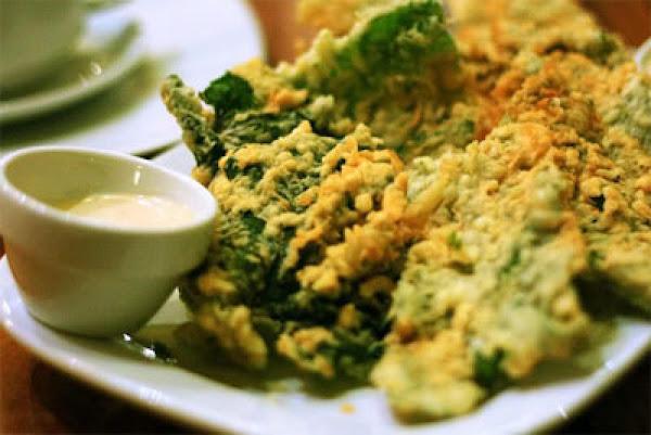 Swamp Cabbage Dip Recipe