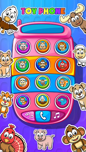 Toy phone: Sensory apps for Babies and Toddlers apkdebit screenshots 2