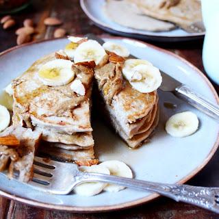 Almond Butter Buckwheat Pancakes