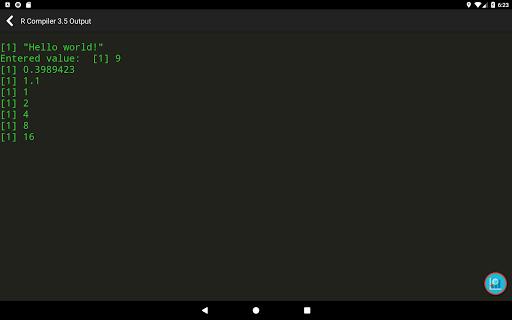 R Programming Compiler screenshot 10