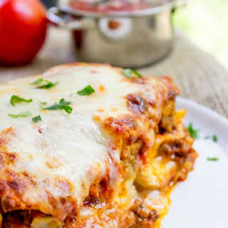Meat Lasagna With Ricotta Cheese Recipes.