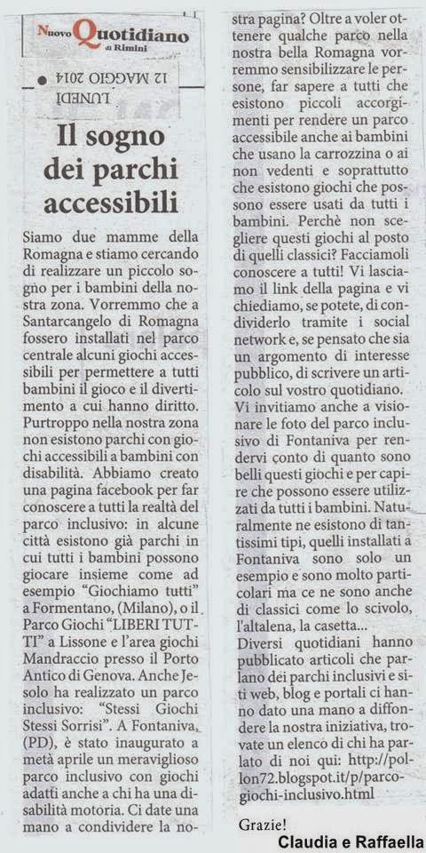 Photo: 12/05/14 Nuovo Quotidiano Rimini
