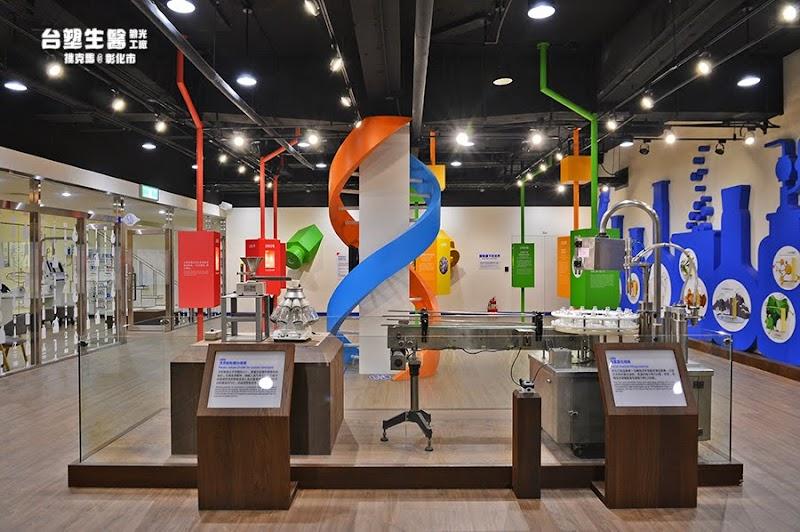 台塑生醫健康悠活館實驗室設備展示空間