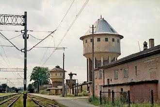 Photo: Wieże ciśnień {Kamieniec Ząbkowicki; 2003-06-22}
