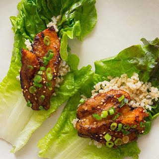 Korean Style Spicy Pork Belly.