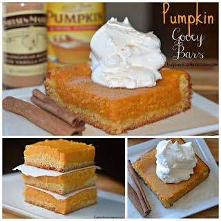 Pumpkin Gooey Bars.