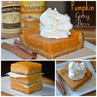 Pumpkin Gooey Bars.