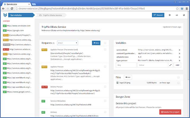 Servistate HTTP Editor & REST API Client