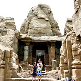 The rock temple by Kanwar Rajneesh Singh - Nature Up Close Rock & Stone